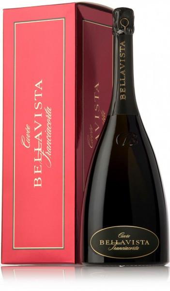 Игристое вино Bellavista Franciacorta Cuvee Brut, gift box