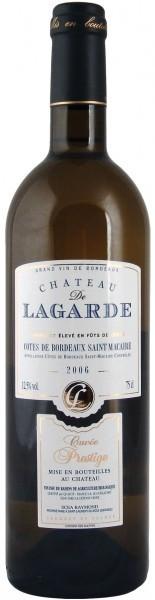 Вино Chateau de Lagarde Cuvee Prestige, Bordeaux Superieur AOC 2006