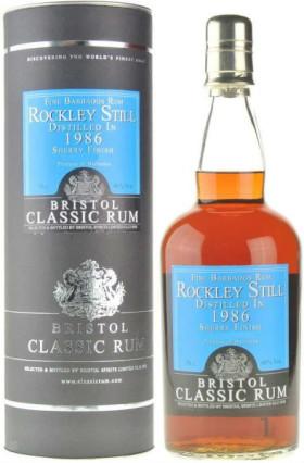 "Ром Bristol Classic Rum, ""Rockley Still"" Barbados, 1986, in tube, 0.7 л"