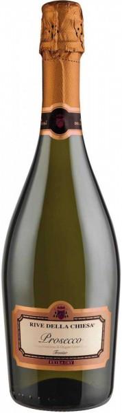 Игристое вино Rive Della Chiesa, Prosecco Extra Dry, Treviso DOC