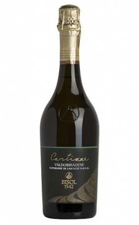 Игристое вино Bisol Kartitstse Valdobbyadene Superiore di Kartitstse 2017 0.75л