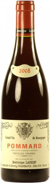 """Вино Dominique Laurent, Pommard AOC """"Vieilles Vignes"""", 2008"""