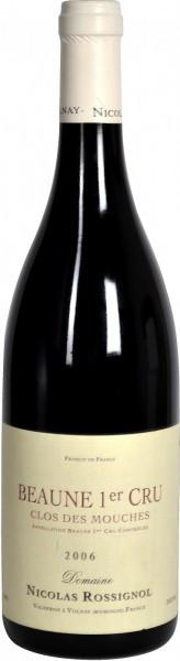 Вино Domaine Nicolas Rossignol, Beaune Premier Cru Clos Des Mouches AOC, 2006