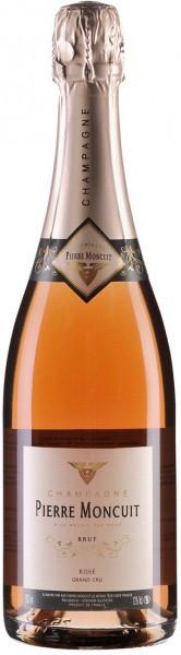 Шампанское Pierre Moncuit, Brut Rose