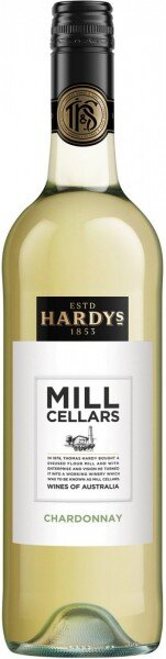 "Вино Hardys, ""Mill Cellars"" Chardonnay, 2016"