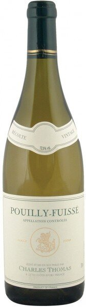 Вино Charles Thomas, Pouilly-Fuisse AOC, 2012