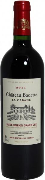 """Вино Chateau Badette, """"La Cabane"""", Saint-Emilion Grand Cru AOC, 2011"""