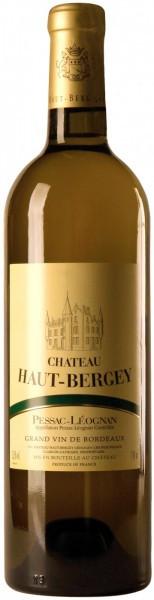 """Вино """"Chateau Haut-Bergey"""" Blanc, Pessac-Leognan AOC, 2011"""