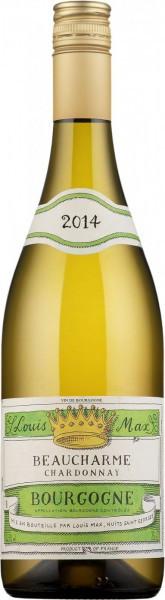"Вино Bourgogne Chardonnay ""Beaucharme"" AOC 2014"