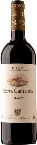 Вино Sierra Cantabria, Crianza, Rioja DOCa, 2012