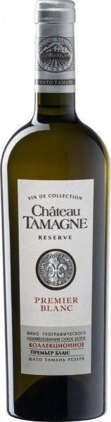 """Вино """"Chateau Tamagne"""" Reserve, Premier Blanc"""