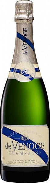 """Шампанское Champagne de Venoge, """"Blanc de Blancs"""" Brut, Champagne AOC, 2004"""