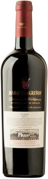 Вино Marques de Grinon, Syrah, 2011