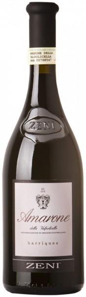 """Вино Zeni, Amarone della Valpolicella DOC """"Barriques"""", 2009"""
