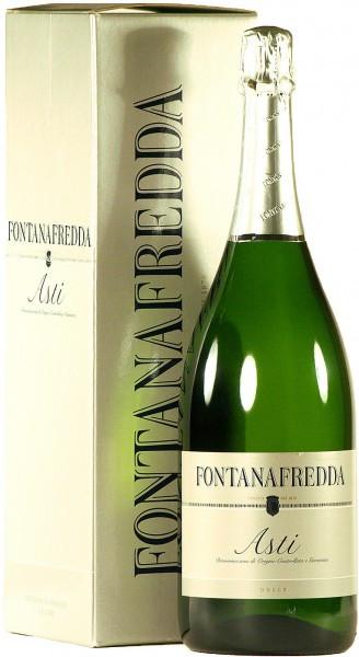 Игристое вино Fontanafredda, Asti DOCG, gift box, 1.5 л
