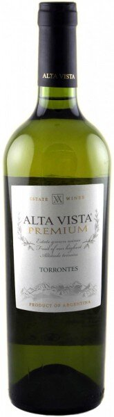 """Вино Alta Vista, """"Premium"""" Torrontes, 2010"""