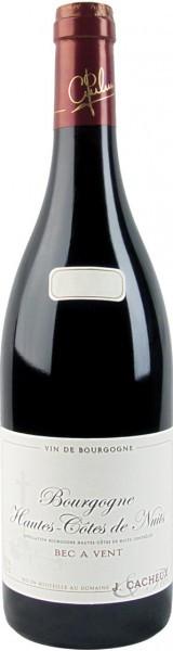 """Вино Domaine Jacques Cacheux, Bourgogne Hautes-Cotes de Nuits """"Bec a Vent"""", 2010"""