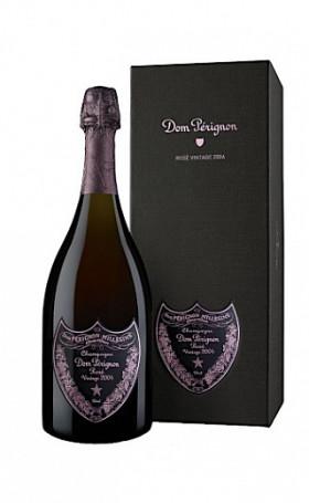 Шампанское Dom Perignon Rose Vintage 2003 gift box 1.5л