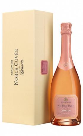 Шампанское Noble Cuvee de Lanson Brut Rose gift box 0.75л