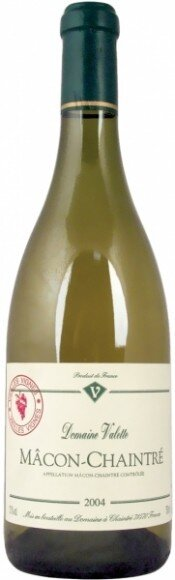 Вино Domaine Valette Macon-Chaintre Vieilles Vignes 2004