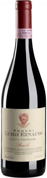 "Вино Poderi Luigi Einaudi, Barolo ""Costa Grimaldi"", 1998"