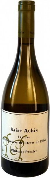 Вино Philippe Pacalet, Saint-Aubin Premier Cru Les Murgers des Dents de Chien, 2008