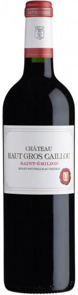 Вино Chateau Haut Gros Caillou, Saint-Emilion AOC, 2010
