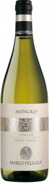"""Вино Collio Pinot Grigio """"Mongris"""" DOC, 2015"""