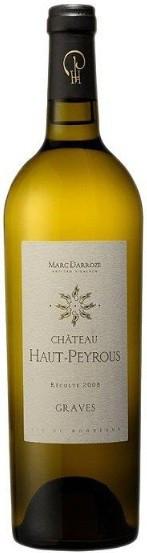 """Вино """"Chateau Haut-Peyrous"""" Blanc, 2009"""