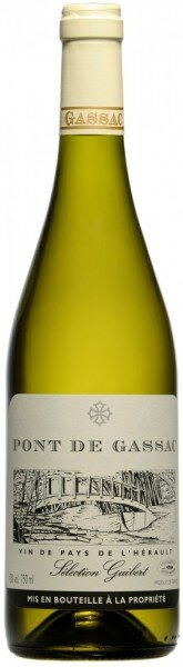 """Вино """"Pont de Gassac"""" Blanc, 2013"""