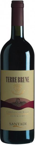 "Вино ""Terre Brune"", Carignano del Sulcis DOC Superior, 2004"