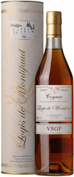 Коньяк Logis de Montifaud VSOP Grand Champagne Cognac AOC, gift box, 0.7 л