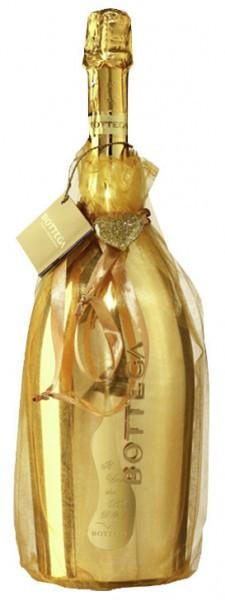 """Игристое вино """"Il Vino dei Poeti"""" Brut Prosecco DOC (Gold designe), gift bag"""
