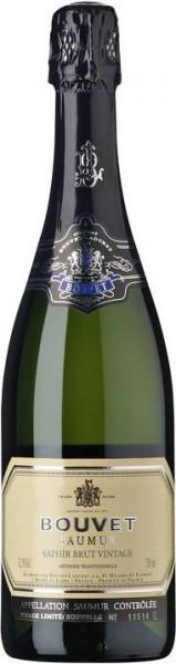 """Игристое вино Bouvet Ladubay, """"Saphir"""" Brut Vintage, Saumur AOC, 2012"""