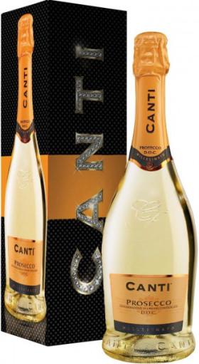 Игристое вино Canti, Prosecco, 2014, gift box