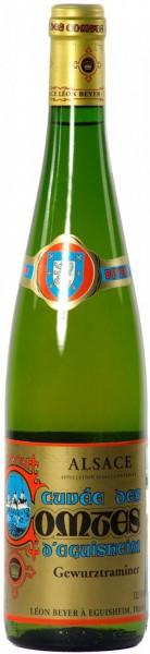 """Вино Leon Beyer, Gewurztraminer """"Cuvee des Comtes d'Eguisheim"""", 2000"""