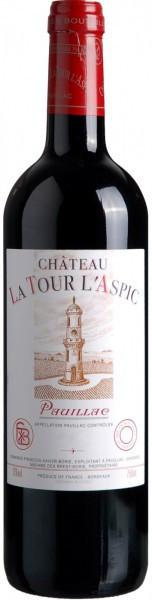 Вино Chateau La Tour l'Aspic, Pauillac AOC, 2007