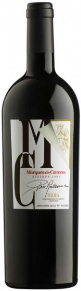 Вино Marques de Caceres, Cuvee Especial Paco Rabanne Reserva, 2005