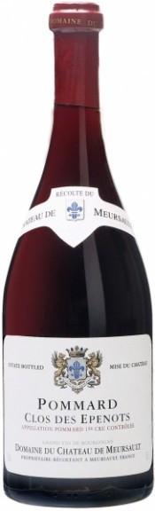 Вино Chateau de Meursault Pommard Clos des Epenots 1er Cru AOC, 2004