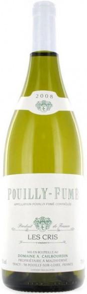 Вино Pouilly-Fume AOC Les Cris 2008