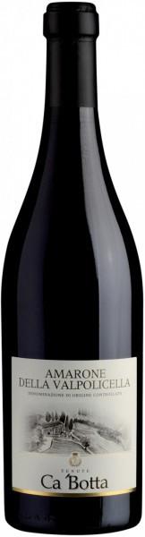 Вино Ca'Botta, Amarone della Valpolicella DOC, 2009