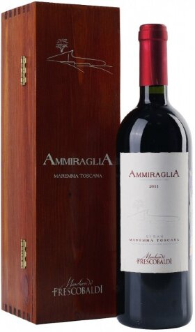 "Вино ""Ammiraglia"", Maremma Toscana IGT, 2011, wooden box"