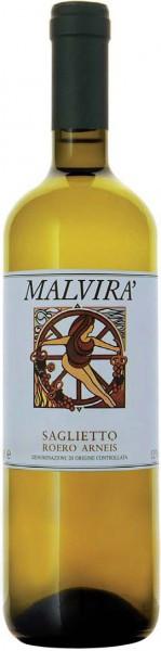 """Вино Malvira, Arneis Roero """"Saglietto"""", 2009"""
