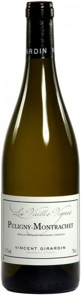 """Вино Vincent Girardin, Puligny-Montrachet """"Vieilles Vignes"""", 2011, 0.375 л"""