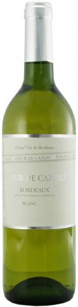 Вино Fleur de Cazeau, Bordeaux AOC, Blanc