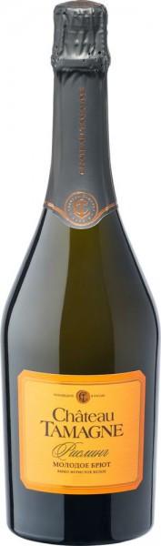"Игристое вино ""Chateau Tamagne"" Riesling, Young Brut"