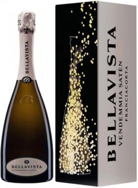 "Игристое вино Bellavista, ""Saten"", Franciacorta DOCG, 2010, gift box"