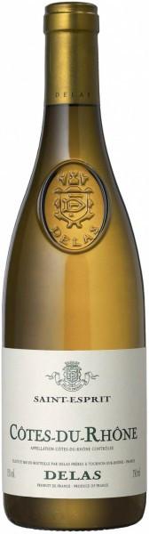 "Вино Delas Freres, Cotes du Rhone ""Saint-Esprit"" Blanc AOC, 2012"