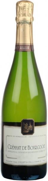 Игристое вино Domaine Jean Collet et Fils, Cremant de Bourgogne AOC