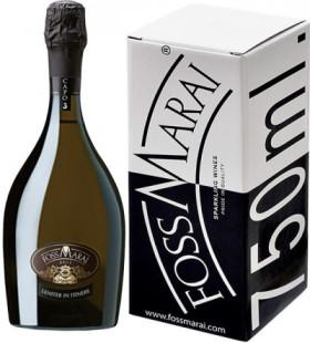 "Игристое вино Foss Marai, ""Capo 3"" Brut, 2009, gift box"